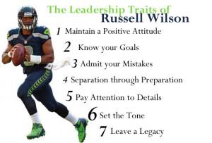 Russell Wilson Leadership Traits