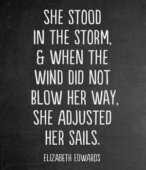 Wind Did Not Blow Her Way – Love Quote