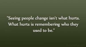 Seeing Friends & Best Friends Change Quote