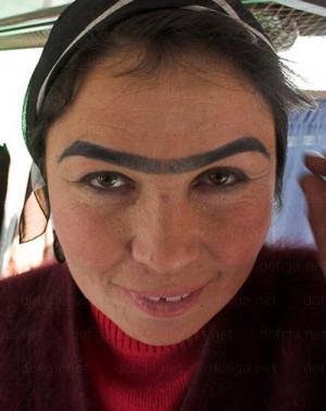 eyebrows, funny eyebrows, bad makeup, worst eyebrows, ugly eyebrows ...