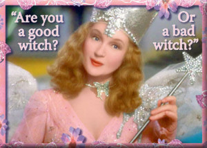 Glinda Good Witch Bad Witch Magnet