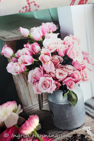 ... flower arrangements and that is what I wanted to focus on in this post