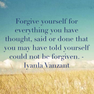 Iyanla Vanzant on forgiveness. quotes. wisdom. advice. life lessons.