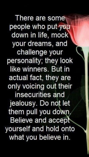 Insecure people