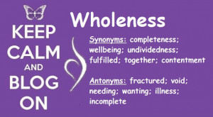 Challenge 9, Part 3: Wholeness
