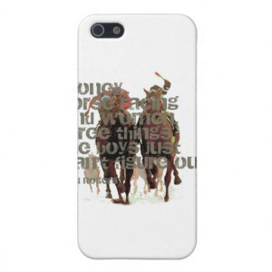 Will Rogers Horse Racing Quote Covers For iPhone 5