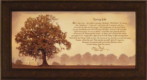 Life by Bonnie Mohr 22×40 Life is a Journey Inspirational Quote Tree ...
