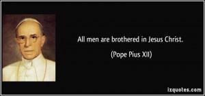 More Pope Pius XII Quotes