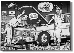 ... of auto repair all it takes is a few bad mechanics to spoil industry