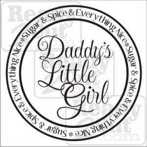 ... are here: Home / Kid Stuff / Girls / Daddy's Little Girl – Round