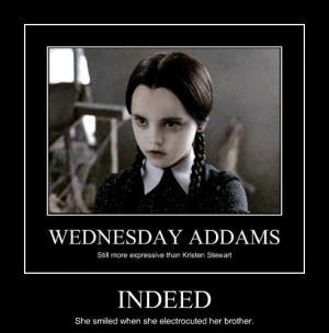 Oh Wednesday Addams