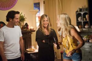 Paul Rudd, Jennifer Aniston, and Malin Akerman.