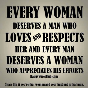Every Woman Deserves A Man