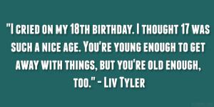 26 Poetic 18th Birthday Quotes
