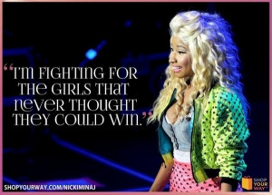 nicki minaj bad bitch quotes