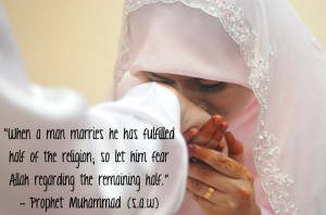Here are some beautiful Muslim Marriage quotes showing the beauty of ...