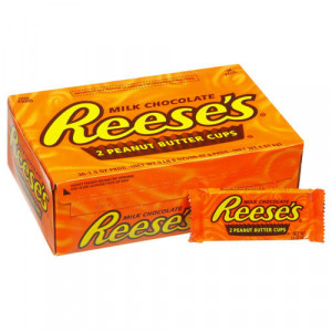 ... reese s peanut butter cups 36 ct reese s peanut butter cups showcase