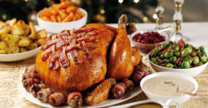 out of christmas dinner drink food totalling more christmas dinner ...