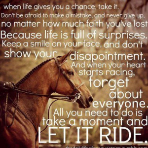 Horses Quotes Inspiration Sports Life Horseback Riding Equine Picture