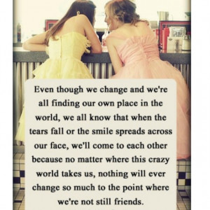 perfect quote for long time friends
