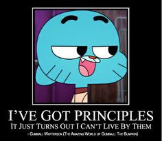 amazing world of gumball funny quotes first meme attempt. I l...