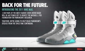 """Nike Releases: """"Back To The Future"""" shoe!"""