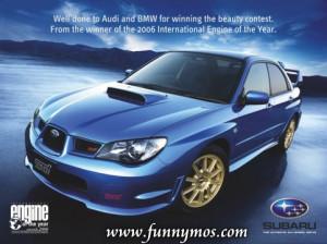BMW, Audi & Subaru ads