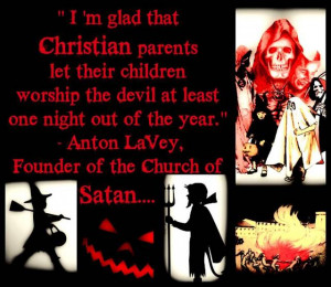 HEADS UP: Anton LaVey, founder of the neo-nazi Church of Satan, stated ...