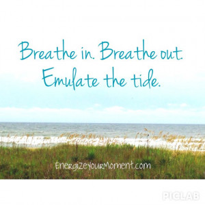 Beach time. EnergizeYourMoment.com