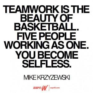 Coach K Quote