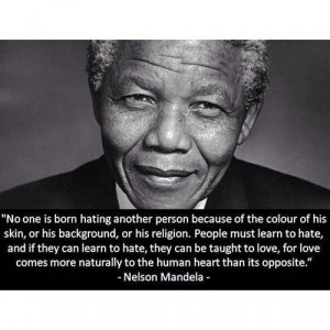Nelson Mandela, South Africa's first democratically elected ...