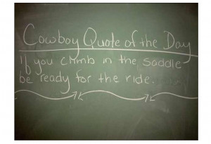 Cowboy Quote