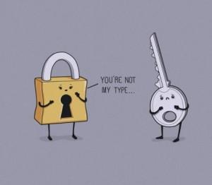 aww, broken, key, lock, love, not, quotes, type