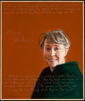 Alice Waters Poster