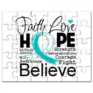 Faith Hope Cervical Cancer Puzzle