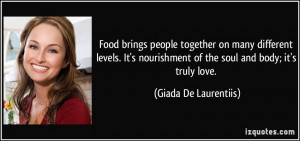 More Giada De Laurentiis Quotes
