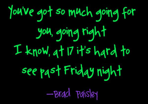 Letter To Me - Brad Paisley Country Song Lyrics Quotes