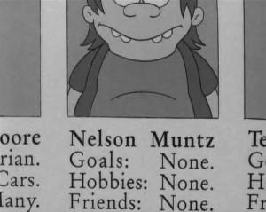 nelson muntz #simpson #the simpson #bullies