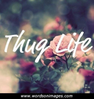 Thug love quotes