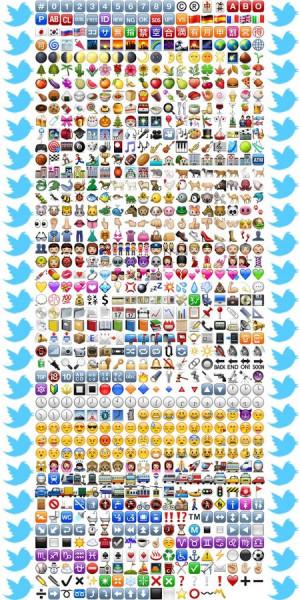 850 Twitter Emojis ☆★ - screenshot