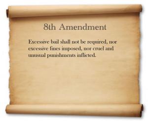 8th amendment quotes. quotesgram