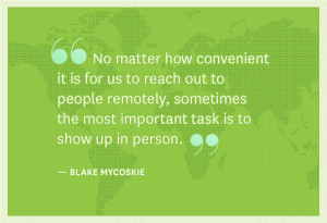 Blake Mycoskie quote