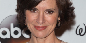 ... in the ABC News cafeteria — she's 20/20 anchor Elizabeth Vargas