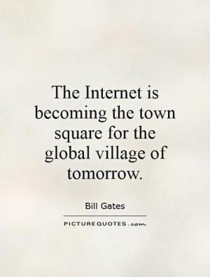 Internet Quotes Bill Gates Quotes