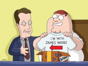 James Woods from Family Guy