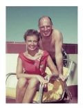 Laraine Day and Leo Durocher