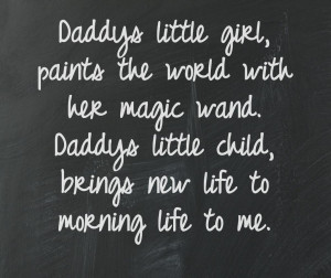 Daddy S Little Girl Quotes Pictures