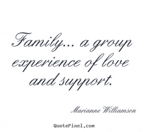 Family A Group Experience Of Love And Support