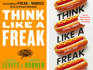 Here, on the left, is how the book will look in the U.S. and Canada ...