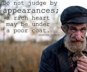 Don't Judge by appearances